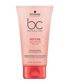 Schwarzkopf BC Repair Rescue Sealed Ends Saç üçün İntensiv Serum
